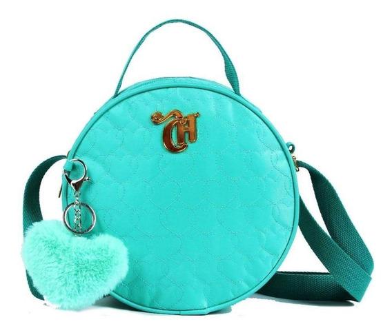 Bolsa Transversal Capricho Bag Love Green