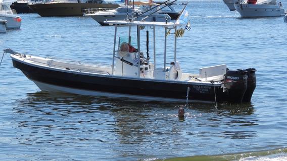 Lancha Tracker Equipado Pesca Con 2 Motores 4t. Suzuki 140.