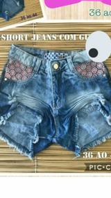 Shorts Jeans Com Gripir
