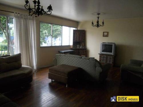Apartamento Com 3 Dormitórios À Venda, 158 M² Por R$ 640.000,00 - Vila Bastos - Santo André/sp - Ap1070