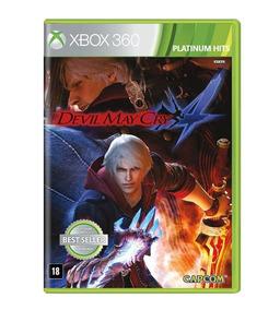Jogo Devil May Cry 4 - Xbox 360 - Novo - Mídia Física
