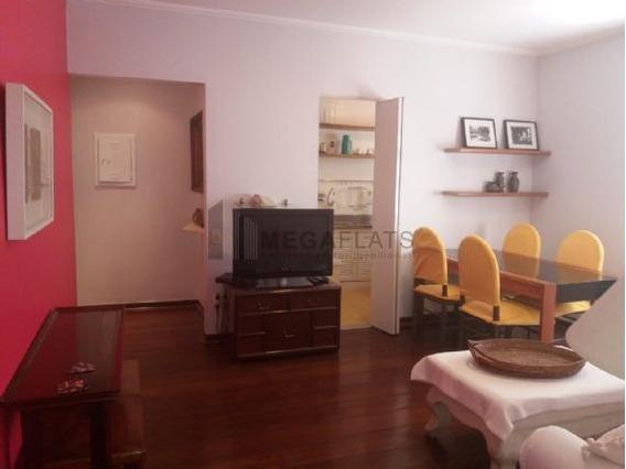 05953 - Flat 2 Dorms. (1 Suíte), Jardins - São Paulo/sp - 5953