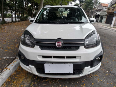 Fiat Uno Way 1.0 Flex - Baixo Km - Impecável (2017-2017)