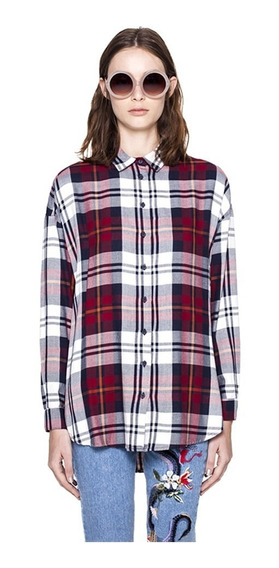 Camisa Vincent Escocesa Casual Mujer Complot