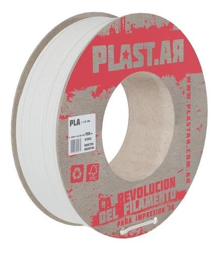 Filamento Impresora 3d Plast.ar | Pla 750g | Sólidos 3d