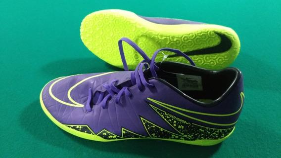 Chuteira Nike Hypervenom Futsal 44