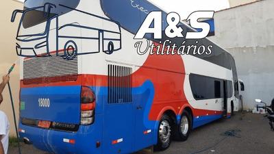 Marcopolo Dd 1800 Scania C/66 Lug. Confira Oferta!! Ref.370