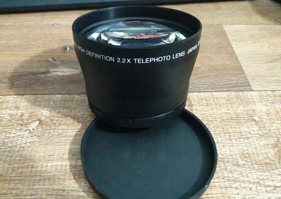 Telefoto 2.2 Para Câmera Dsrl 72mm Para Canon Sony Nikon Etc