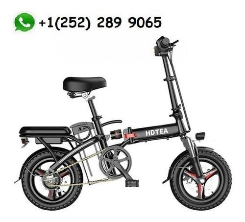 Imagen 1 de 5 de  Folding 14  48v 12.5ah 500w Electric Fattire City E Bike