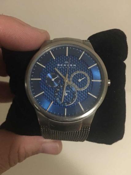 Relógio Skagen Ultra Fino Original