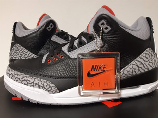 Zapatilla Jordan Retro 3 Black Cement 2018