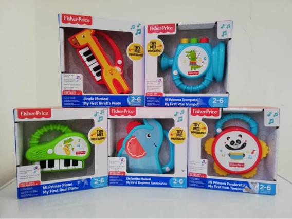Fisher Price Mis Primeros Instrumentos Niños 2-6 Años