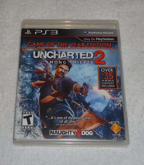 Uncharted 2 Goty Ps3 ** Frete Gratis Leia