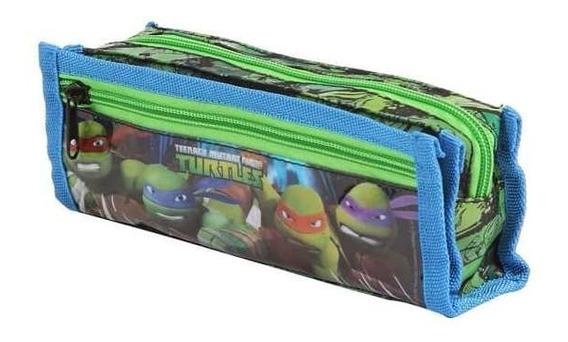 Estojo Tartarugas Ninja 49120 Soft Escolar