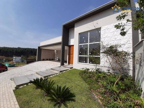 Casa Com 3 Suítes À Venda, 230 M² Por R$ 1.300.000 - Residencial Euroville - Bragança Paulista/sp - Ca2206