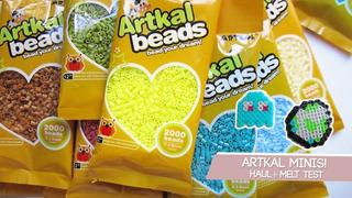 Artkal Beads Bolsita Con 2000 Ctas Mini (2.6 Mm) Hama Perler