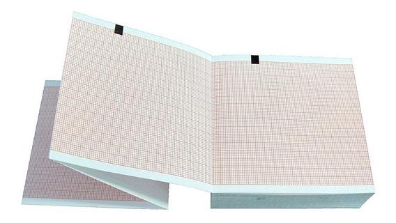 Papel Plegado Térmico Para Ecg Schiller At1 Kit 2 Piezas