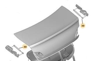 Amortiguador A Gas Para Baul Peugeot 408 1.6