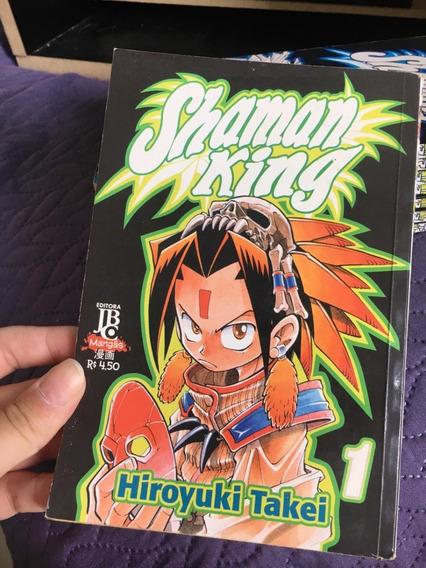 Mangá Shaman King Volumes 1-8