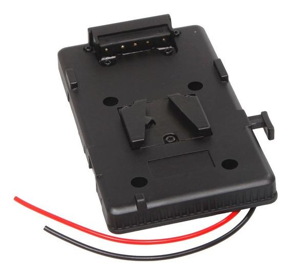 Bateria Traseira Placa Adaptador Para Sony V-sapato V-mount