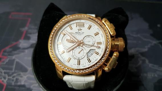 Reloj Original Para Dama Marca Metal Ch 2318.44