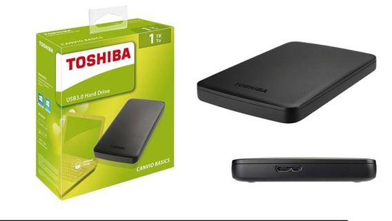 Hd Hard Disk Toshiba Externo Usb 3.0 Portátil 1tb (1000 Gb)