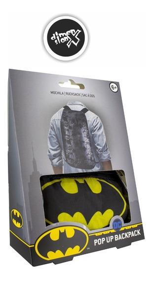 Mochila Pop Up Batman Oficial Dc Paladone