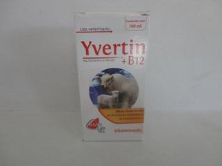 Yvertin +b12 Desparasitante Para Ganado 100 Ml