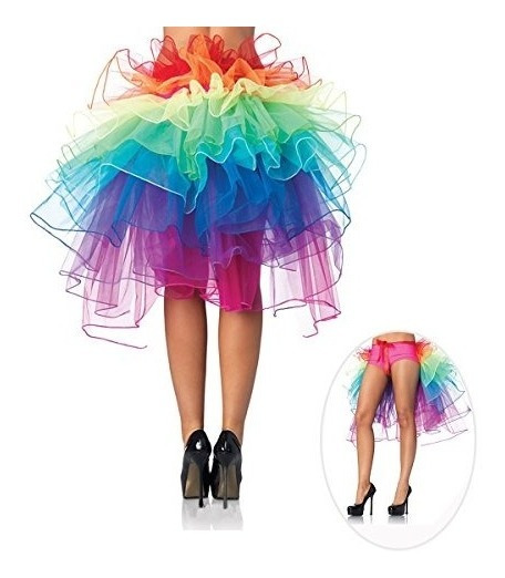 Pixnor Bustle Skirt Falda Larga Cola De Baile De Mujer Falda