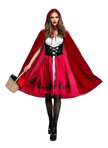 Imagen 1 de 6 de Disfraz Caperucita Roja Halloween Mujer