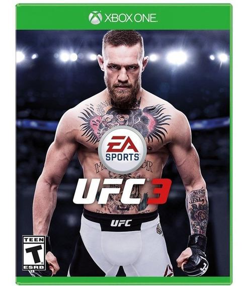 Ufc 3 Xbox One Midia Fisica Original Lacrado Novo Luta