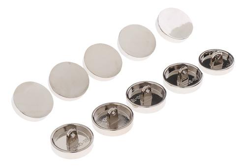Imagen 1 de 6 de 10 Piezas Botones De Mango Hecho De Metal Ideal Para