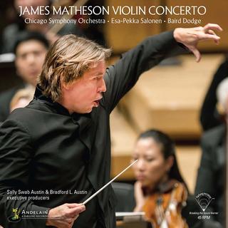 Vinilo : Matheson / Chicago Symphony / Salonen - Violin C...