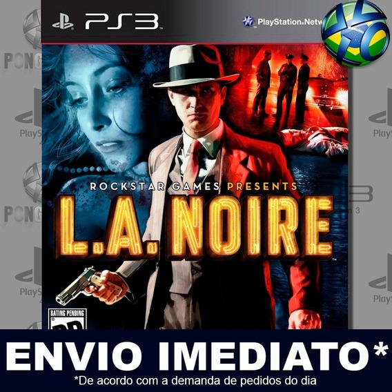 La Noire Psn Digital Psn Promoção