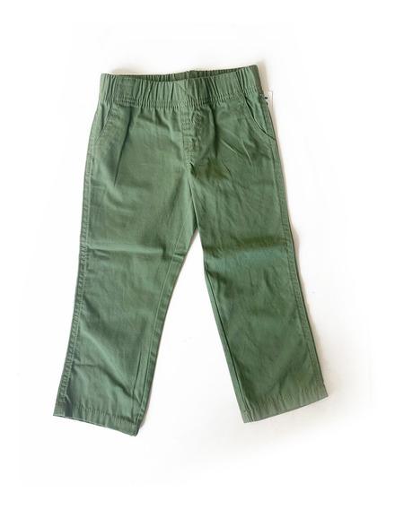 Pantalon Verde Verano Nene Talle 3 Años - Nuevo