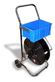 Dispensador Para Zuncho Pp Con Alma 200mm C/ruedas Y Bandeja