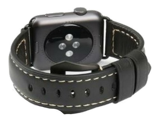 Pulseiras Em Couro Genuíno Apple Watch - Caixa 42 E 44mm