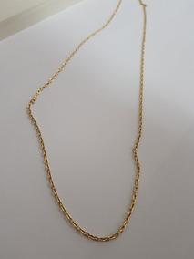 Corrente Masculina Em Ouro 18k Cartier 3,1 Gr - 65