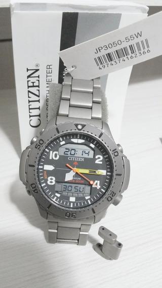 Citizen Aqualand Aquamount Titanium Jp3050 55w Altidepthmete