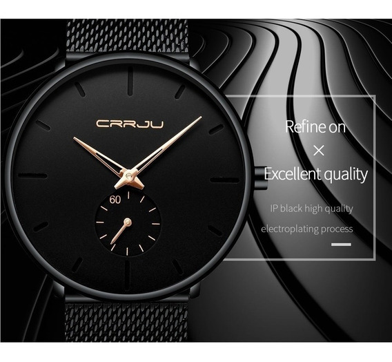 Relógio Masculino Importado Crrju 2150