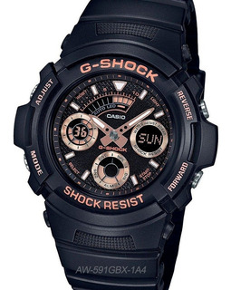 Reloj Casio G-shock Aw-591gbx Cronografo Temporizador 20 Bar Watch Fan Locales Palermo Saavedra