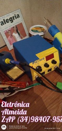 Imagem 1 de 1 de Concerto De Tv, Som Entre Outros Eletrodomésticos.