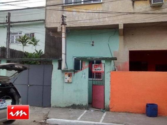 Casa Com 1 Quarto Para Alugar, 25 M² Por R$ 550/mês - Coelho - São Gonçalo/rj - Ca0109