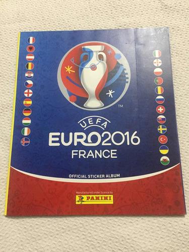 Álbum Panini Uefa Euro 2016 Vasio Nuevo