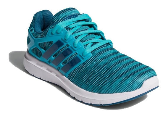 adidas Zapatillas Running Mujer Energy Cloud V Verde Agua