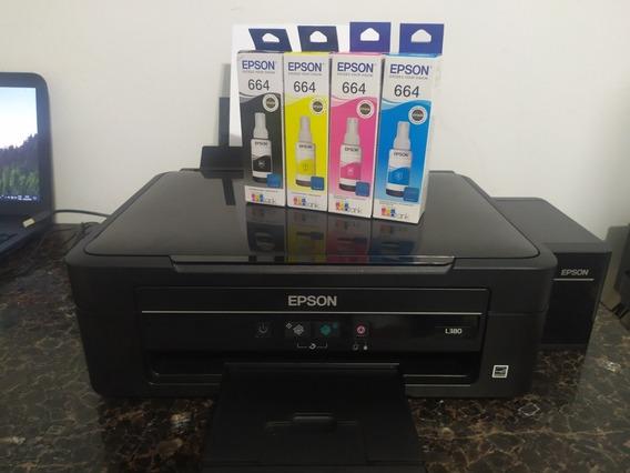 Impressora Multifuncional Epson L380 Semi-nova