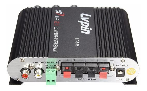 Amplificador Lvpin Lp-200 Lp-838 Super Bass (pronta Entrega)