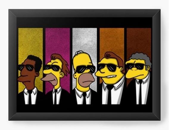 Quadro Decorativo Geekz Simpsons 007