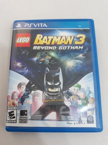 Lego Batman 3 Beyond Gotham Ps Vita Semi Novo Fisico