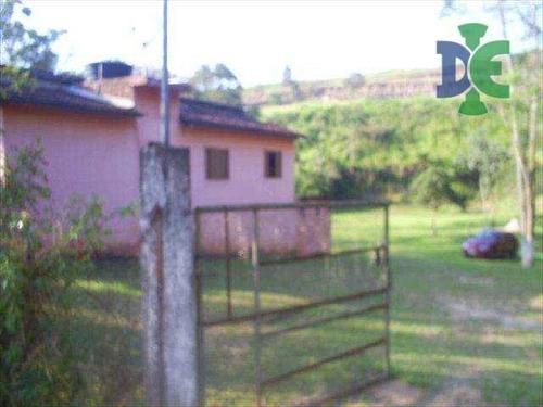 Chácara Com 3 Dormitórios À Venda, 4950 M² Por R$ 300.000,00 - Chácaras Reunidas Igarapés - Jacareí/sp - Ch0045